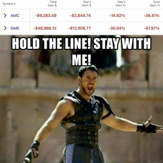 HOLD THE LINE!! STAY WITH ME!!: wallstreetbets2